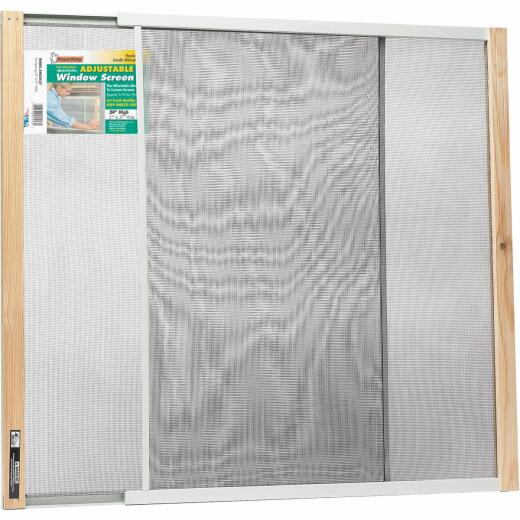 Frost King 21 to 37 In. W. x 24 In. H. Adjustable Metal Rail Screen